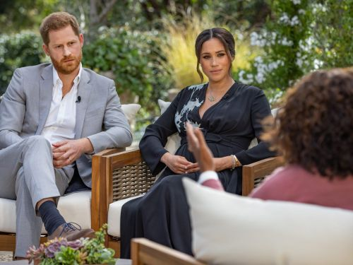 CBS reportedly paid at least $7 million to air Meghan Markle and Prince Harry's bombshell interview with Oprah