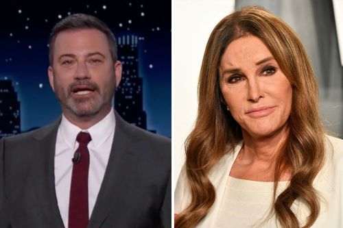 """Jimmy Kimmel Tears Into Caitlyn Jenner's Campaign: """"Are We Sure That Isn't Donald Trump in a Wig?"""""""