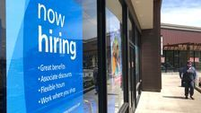 U.S. Jobless Claims Plunge To 576,000, Lowest Since Pandemic