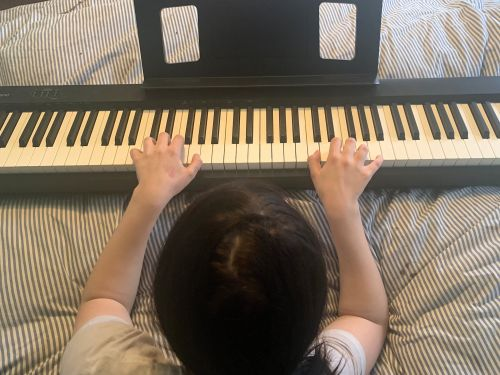 This Roland Entry-Level Digital Piano inspired my daughter to practice and play way more than ever before