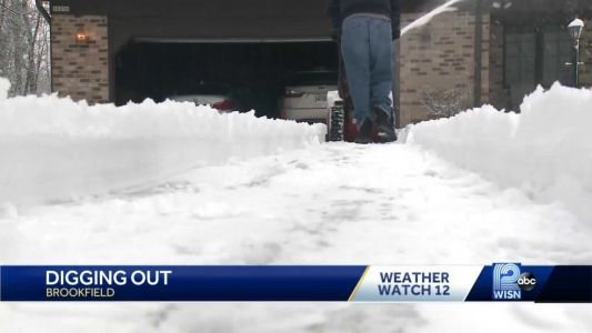 Wisconsinites dig out