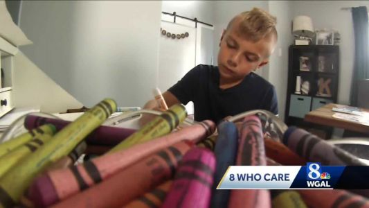 York County boy sells his art to help the sick