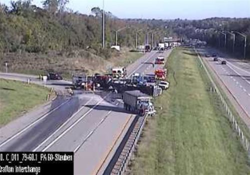 TRAFFIC ALERT: Southbound lanes of Interstate 79 closed in Kennedy