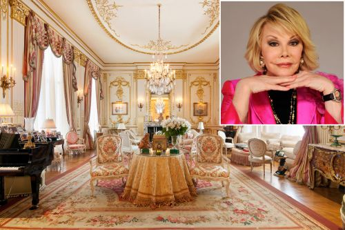 Joan Rivers' 'haunted' NYC penthouse for sale for $38M