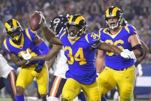 Gurley, Brown help Rams ground out 17-7 win over Bears