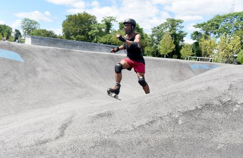 Worldwide Roll Out Day Marked at Smith Park Pumptrack in Boston