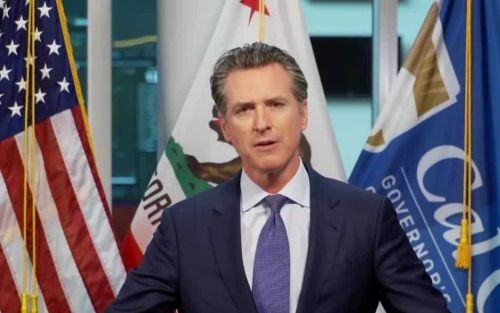Gov. Newsom holds news conference in Sacramento