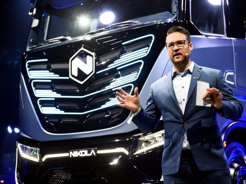 Nikola founder Trevor Milton - who stepped down Monday following fraud allegations - still owns a $2.6 billion stake in the company
