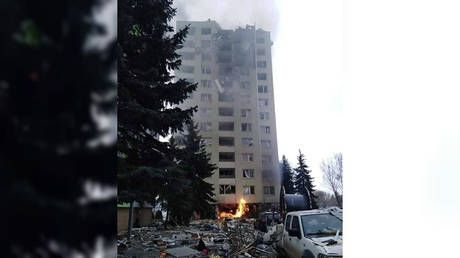 Massive gas EXPLOSION rips through apartment building in Slovakia