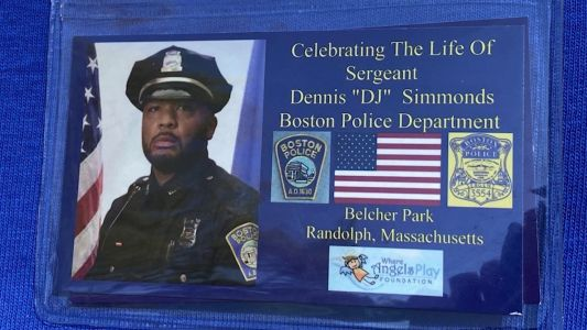 Playground honors police officer who died from injuries suffered after marathon bombings