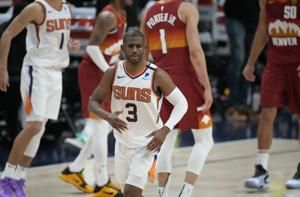 Suns say Paul in protocols, status for West finals unclear
