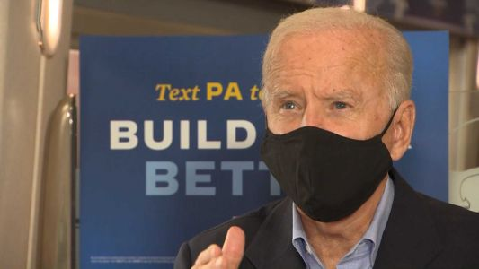 One-on-one: Joe Biden speaks with Pittsburgh's Action News 4 on train tour
