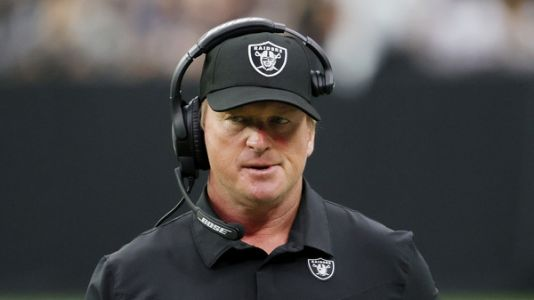 Jon Gruden resigns as Raiders coach after reports of derogatory language in emails