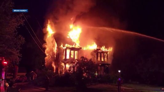 One firefighter injured, one person unaccounted in NH fire