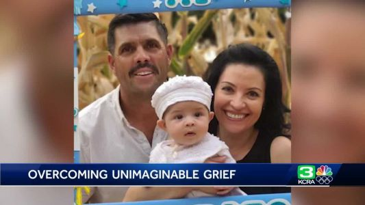 After losing his wife and newborn son in a crash, a landscaper's work and faith helps him overcome grief