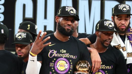LeBron James agrees two-year extension with LA Lakers