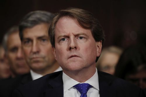 McGahn can't be forced to testify about Mueller probe, Justice Department says