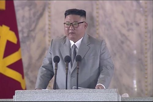North Korea's Kim vows to be ready for confrontation with U.S