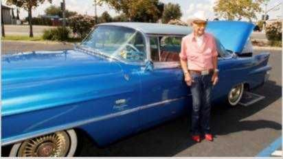 Classic car found 3 days after it was stolen from Sacramento vet