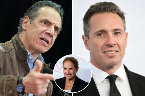 Katie Couric: CNN shouldn't have let Chris Cuomo 'yuk it up' with brother