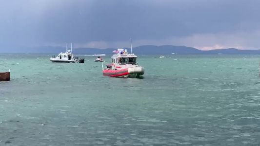 Man drowns, another in stable condition after boating accident in Lake Tahoe