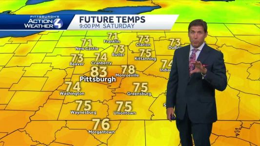 Heat and dry weather lead us into next week