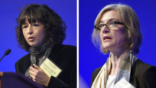 2 scientists win Nobel chemistry prize for 'gene scissors'
