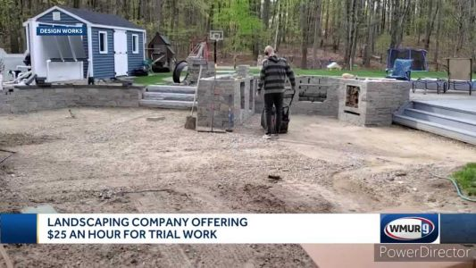 Facing hiring shortage, a Hudson landscaping company offers a paid trial for interested workers