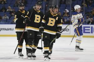 Coyle leads Bruins to 4-1 win over Sabres