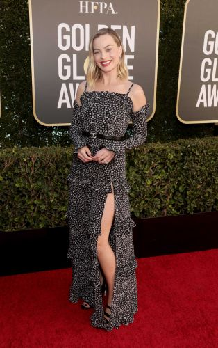 Photos: Stars show off Red Carpet looks for largely virtual Golden Globes