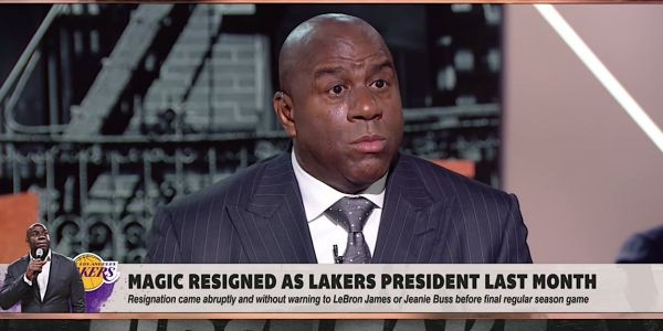 Magic Johnson went scorched earth on the Lakers power structure and GM Rob Pelinka one month after abruptly retiring as team president