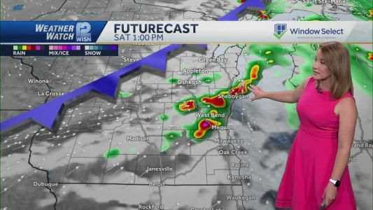 Videocast: Hot with storm chances Saturday