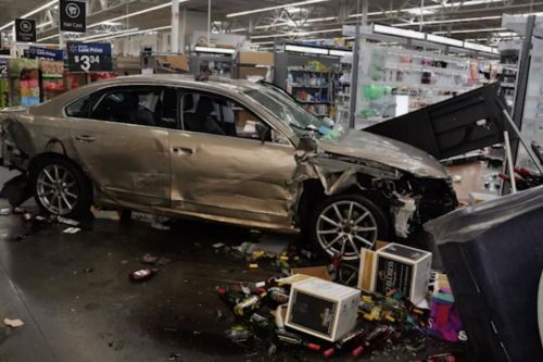 Former Walmart employee drives into store after getting fired