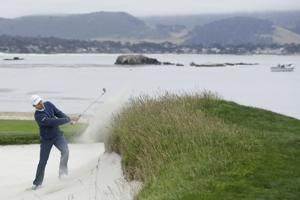 Final round of US Open features marine layer and low scores