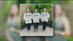 Triplets Celebrate Being Pregnant At The Same Time