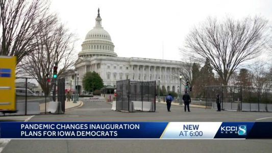 Iowans to celebrate Inauguration Day in spirit due to COVID-19