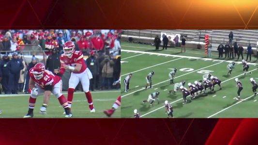Mahomes Magic: Patrick Mahomes' run in AFC title game mirrors miraculous run in high school playoffs