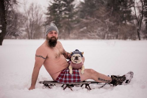 'Dad Bods and Rescue Dogs' calendar raises money for animal rescue