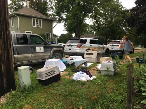 4 dead, 18 living dogs retrieved from poor conditions in Buchanan County