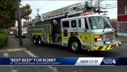 'Beep beep for Bobby': Mount Oliver honors beloved neighbor who recently died