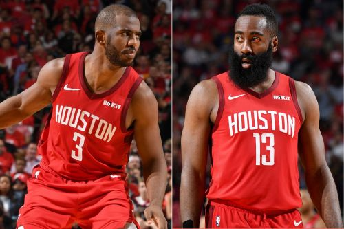 Chris Paul can no longer co-exist with James Harden on the Rockets
