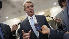 U.S. Senate's Flake takes a stand on protecting Mueller probe