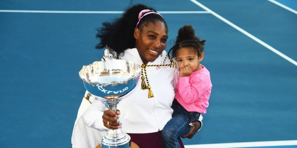 'Not easy': Serena Williams shared a candid photo revealing what it's like being a mom and a professional athlete