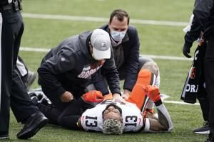 Browns place Beckham on injured reserve after knee injury