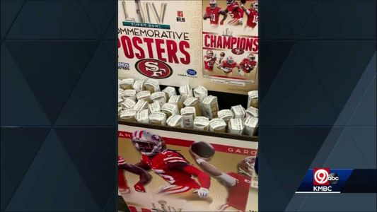 California Target store sells Super Bowl 54 posters with 49ers as champs