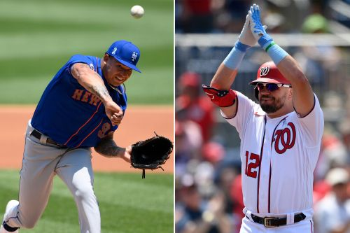 Kyle Schwarber's three home runs torment Mets in loss to Nationals