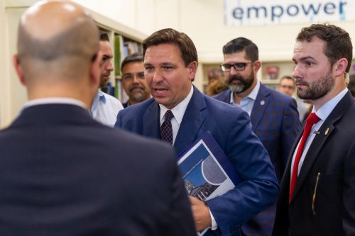DeSantis gives Fox 'exclusive' of him signing election bill