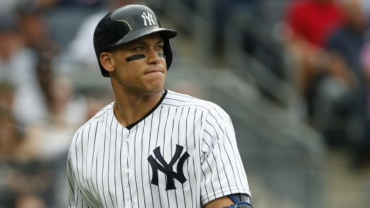 Aaron Judge reporting to Yankees' spring training 'as healthy as he's been,' Aaron Boone says