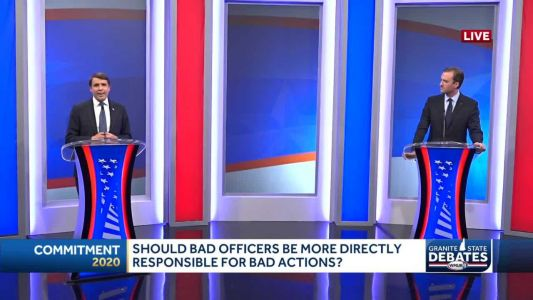 2020 NH 1st District debate: Qualified immunity and addressing bad police officers