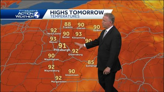 Hot and sunny on Friday, humidity climbs into the weekend